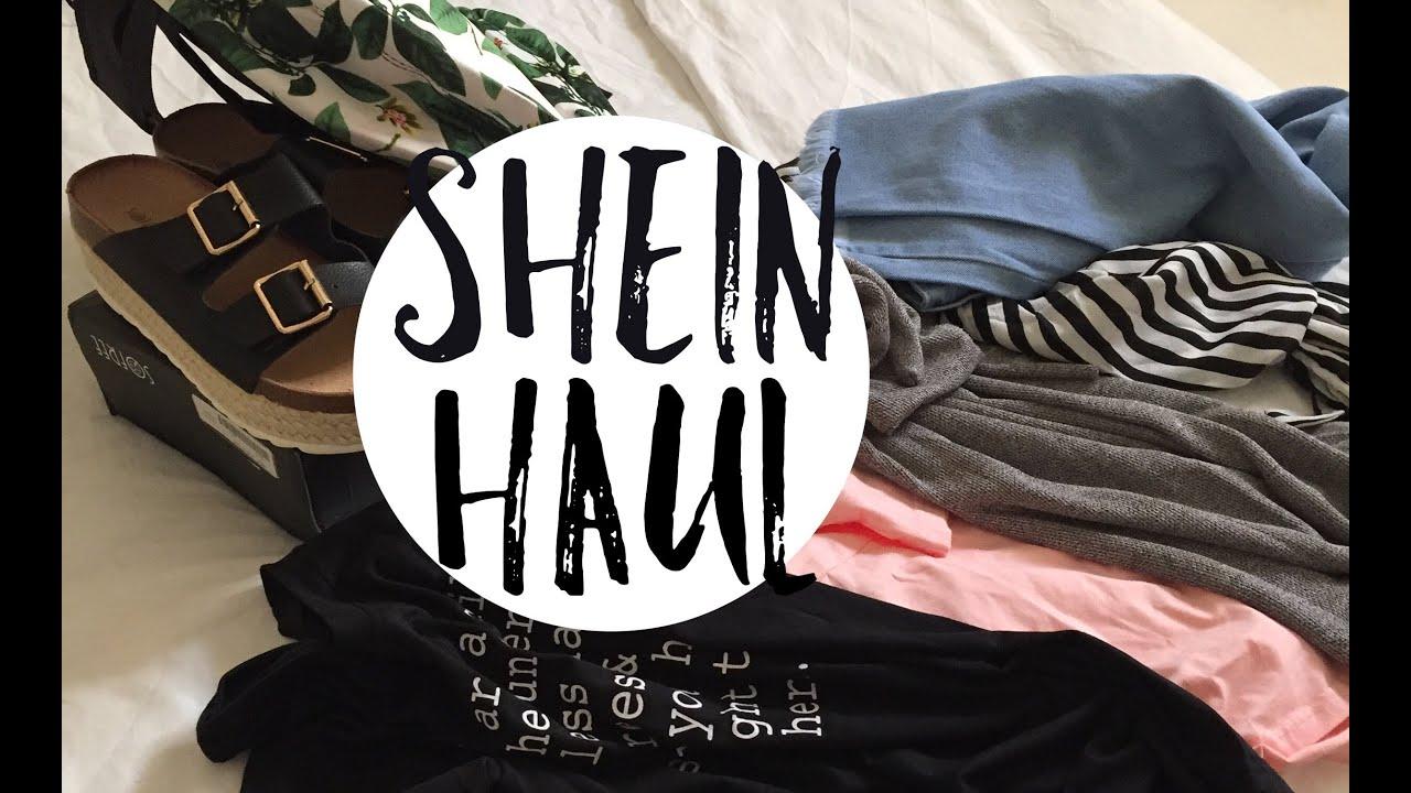 مشترياتي من موقع شي ان Shein Sheinhaul Youtube