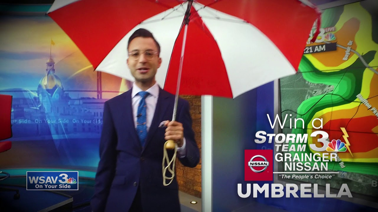 WSAV STORM TEAM 3 UMBRELLA