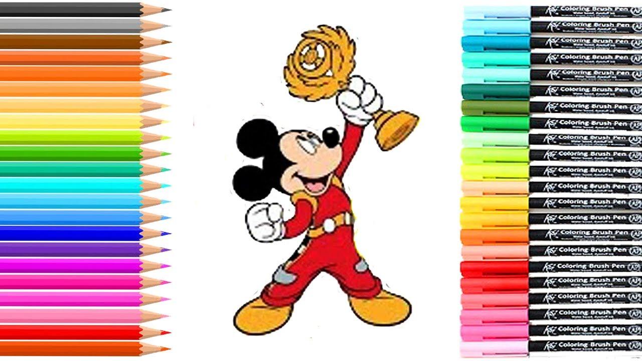 Dibujos Para Colorear Mickey Sobre Ruedas