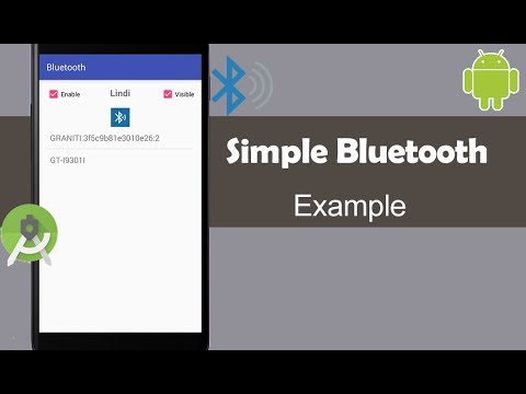 Simple Bluetooth Example - Android Studio Tutorial