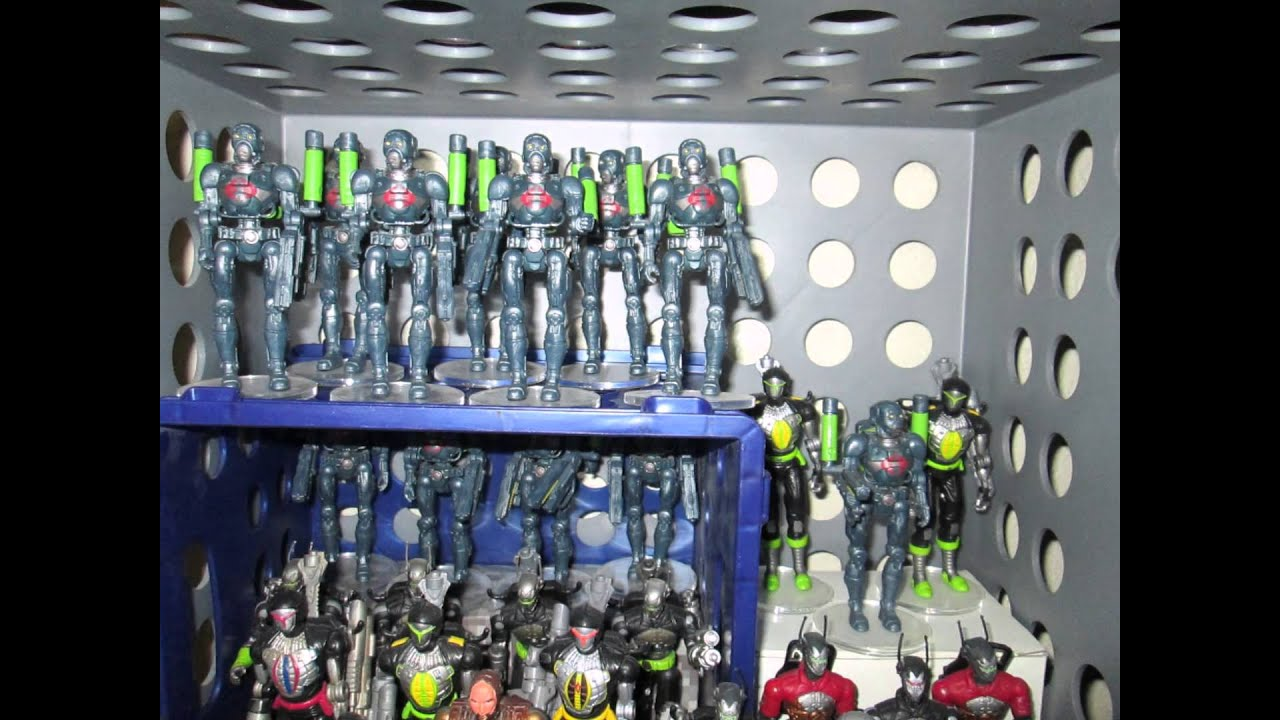 GI Joe Toy Collection pt.1 (2015) My Massive Cobra Army! (Largest loose  display of toys?) - YouTube