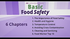Basic Food Safety for Oregon (English)