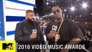 Puff Daddy Talks About the Bad Boy Family Reunion Tour | 2016 Video Music Awards | MTV