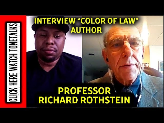Color of Law - Richard Rothstein Interview - Tonetalks