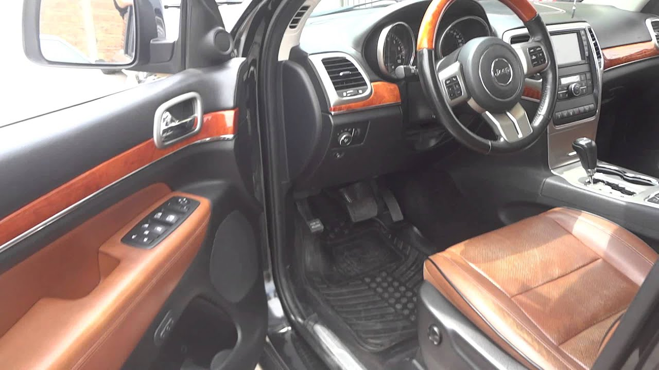 JEEP Grand Cherokee 2011 5 7 OVERLAND 4X4 HEMI V8 MDS