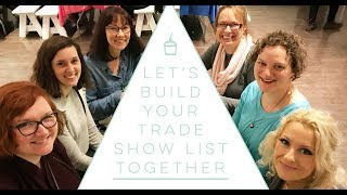 List of Trade Shows Should You Be Attending  - how to start a children