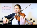 Pachelbel Canon in D major | Top Tips for polishing a piece + how much do I practice?