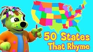 Nursery Rhymes and Kids Songs | 50 States That Rhyme | Raggs Tv