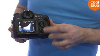 Sony Alpha A68 camera productvideo