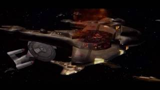 Star Trek Deep Space Nine Dominion Wars full intro (including the logos)