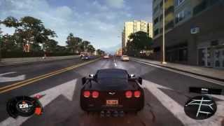The Crew corvette PC gameplay