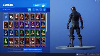 Fortnite account sell !!! ( Season 1 ACC + 50 Skins) Black Knight