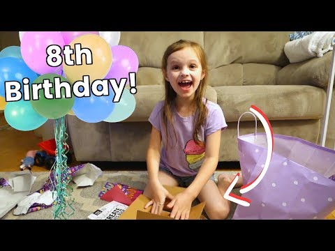 Madison's 8th Birthday! First Littlest Pet Shop | Vlog | Mommy Etc