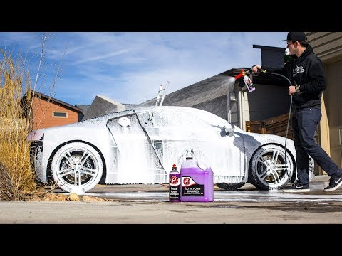 adam's-polishes-foam-cannon-wash-|-audi-r8