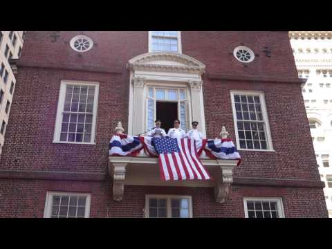 Boston 4th of July Declaration of Independence - Old State House - 2016