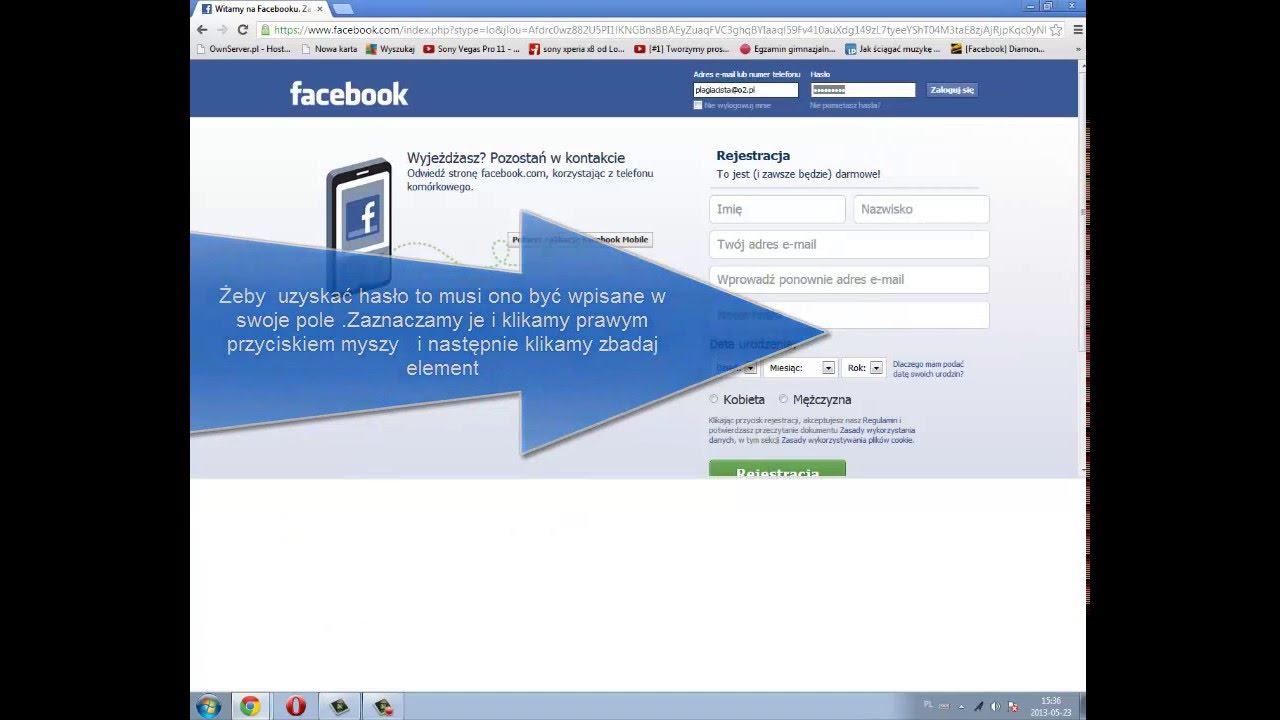 Fb logowanie bez hasła