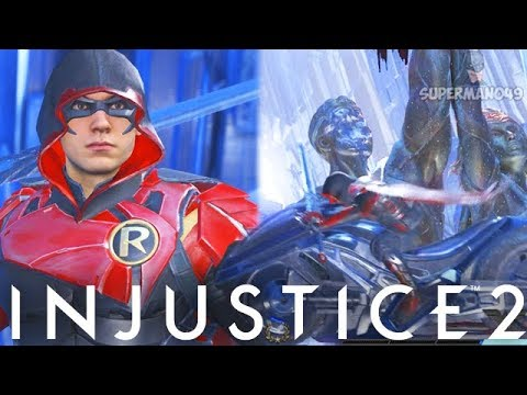 "The Legendary Unblockable RedBird Cycle Super! - Injustice 2 ""Robin"" Legendary Gear Gameplay"