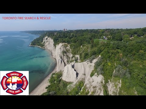 TORONTO FIRE RESCUE people from cliff