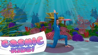 Norris the Baby Seahorse | A Cosmic Kids Yoga Adventure!
