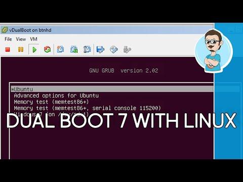 Dual Boot Windows 7 & Ubuntu (Linux)!
