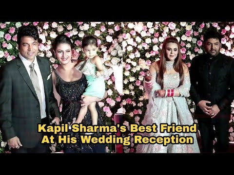 Kapil Ka Dost Chandan Prabhakar At Kapil Sharma Wedding Reception