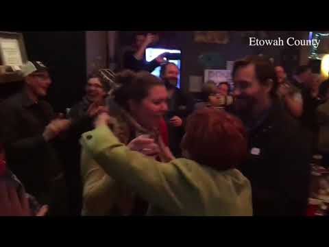 Doug Jones supporters celebrate Senate win