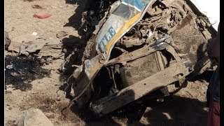 11 people killed as truck rams into a 14-seater matatu at Kikopey