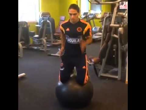 Never Back Down ● Falcao is preparing to play at the World Cup 2014 after injury