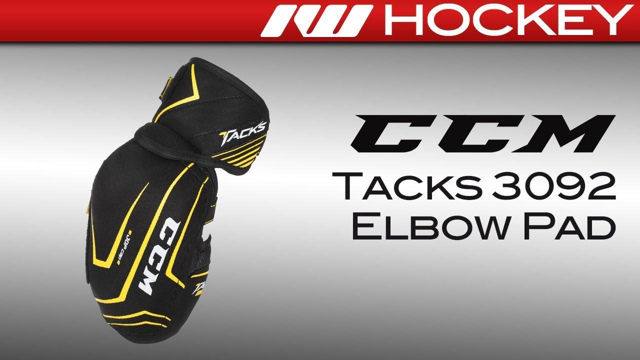 6489e4ea43c CCM Tacks 3092 Elbow Pad Review - YouTube