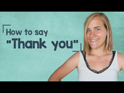 How to say thank you for your time in german