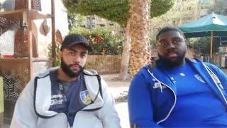 لاعب الكونغو صاحب الـ110 كليو لـ«الوطن»: معرفتش أخس ومشاركتنا تاريخية (فيديو)
