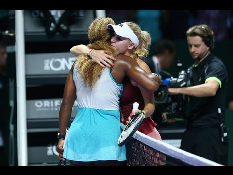 Serena Williams VS Caroline Wozniacki Highlight 2014 SF