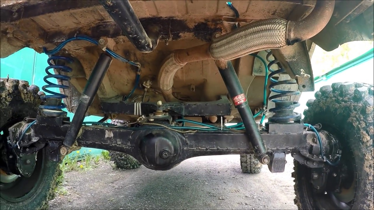 Про колесные редуктора, бортовые редуктора на ниве и усиление