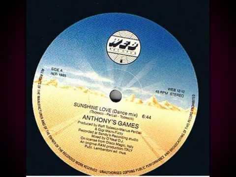 Anthony's Games - Sunshine Love (Vinyl,12'') Mix