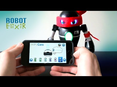 MiP Robot Mood Swings using App Cans Mode