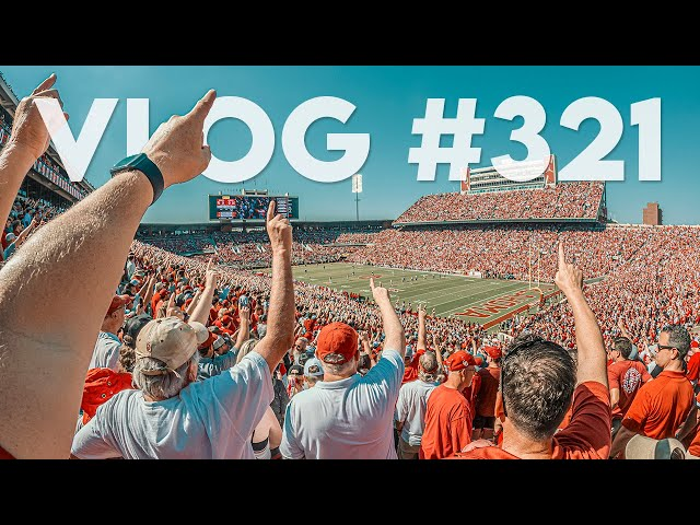 VLOG #321 / OU & Nebraska BACK AT IT! / September 18, 2021