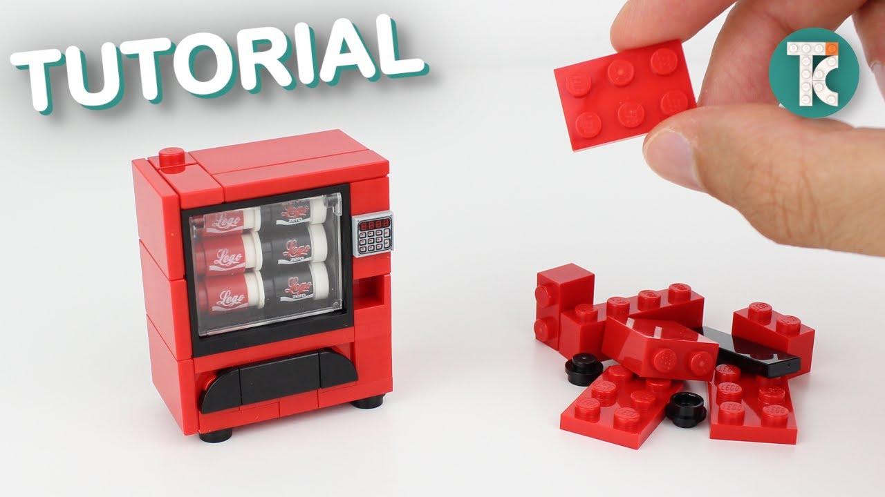 LEGO Coke Vending Machine (Tutorial)