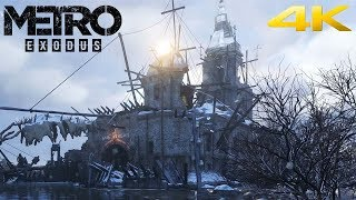 METRO EXODUS #4 - QUESTI SO MATTI - 4K GRAFICA ESTREMA RAY TRACING ULTRA, 2080 ti - GAMEPLAY ITA