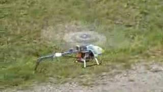 Prove di volo Elicottero Robbe Crown III