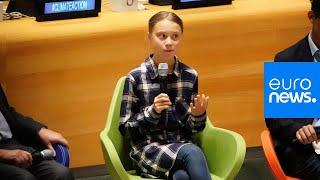 Live   Teenage activist Greta Thunberg gives speech at UN Youth Climate Summit