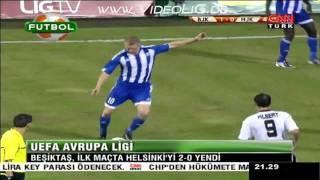 Besiktas - Helsinki 2 - 0