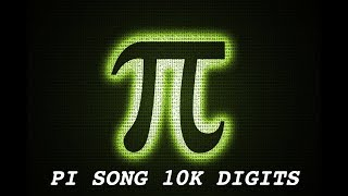 Pi Song Extended 10,000 Digits