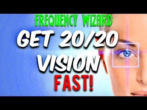 GET 20/20 VISION FAST! CORRECTING ASTIGMATISM, MIOPY, CATARACTS SUBLIMINAL AFFIRMATIONS BINAURAL