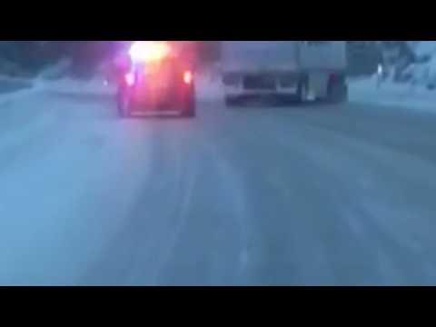 Fed ex truck sliding (official)