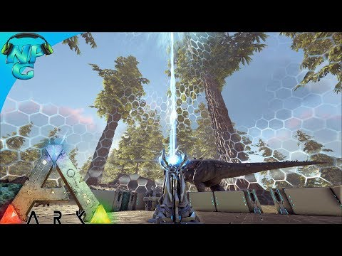 S6E3 Building our Tek Base and some Fancy New Features! ARK: Future Evolved PVP