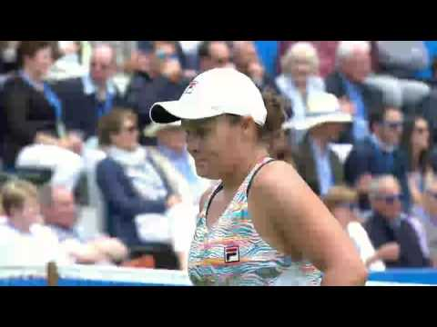 Ashleigh Barty Aegon Classic Semi-Final Shot of the Day