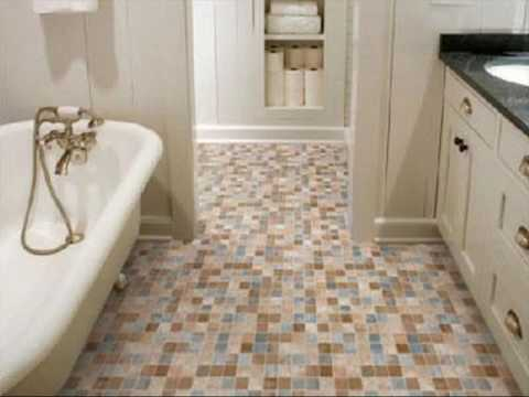 Small Floor Tiles for Bathroom Ideas
