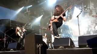 Sonata Arctica - Kindom for a heart + Wolf & Raven, Live