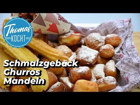 Schmalzgebäck, Churros Und Gebrannte Mandeln Selber Machen / Weihnachtsmarkt / Thomas Kocht