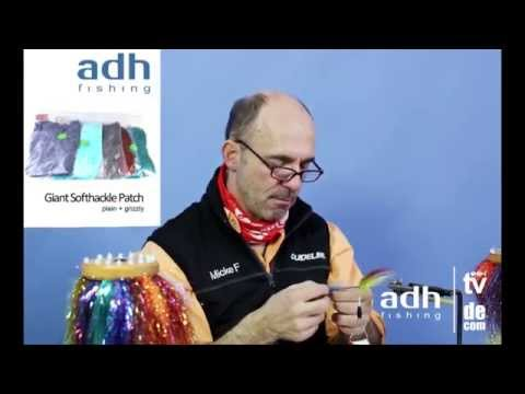 adh-fishing TV - Fly Tying Video featuring Mikael Frödin tying a moonshine tube fly